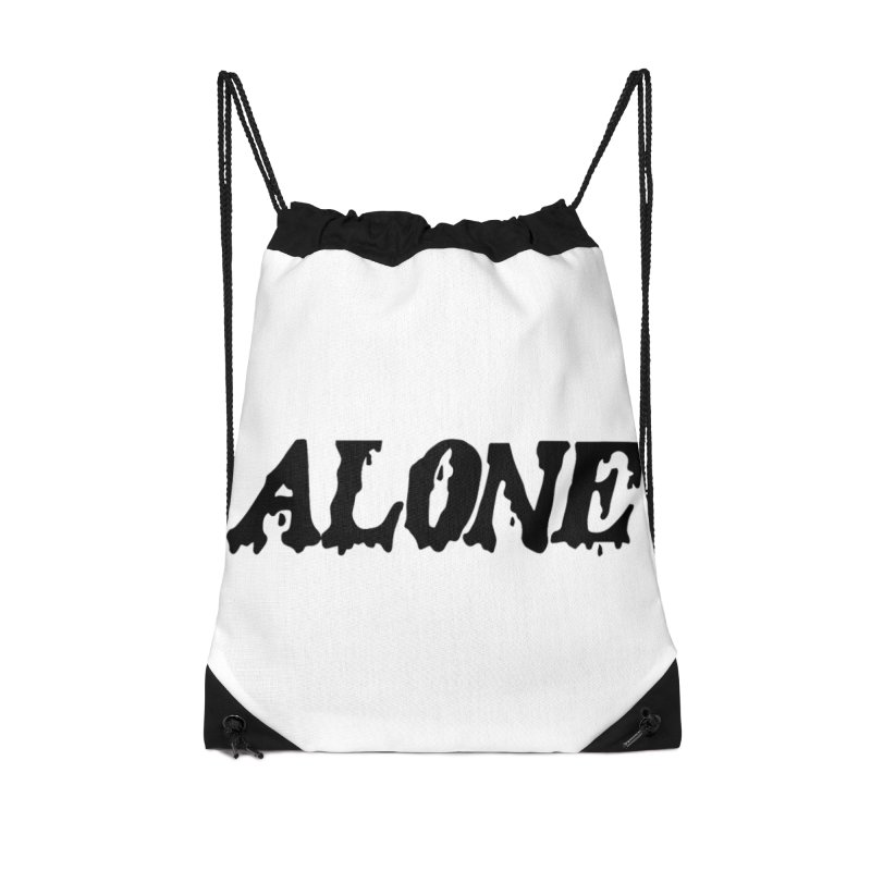 Alone in Drawstring Bag by Vice Versa Press