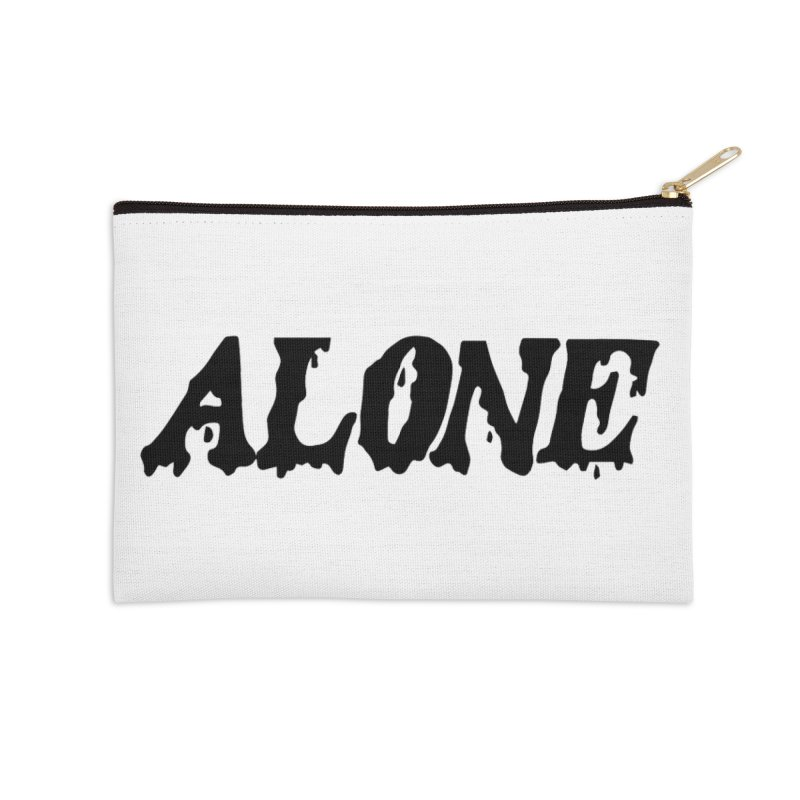 Alone Accessories Zip Pouch by Vice Versa Press
