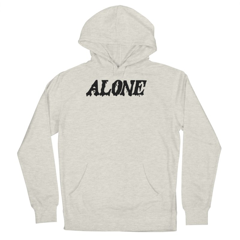 Alone Men's French Terry Pullover Hoody by Vice Versa Press