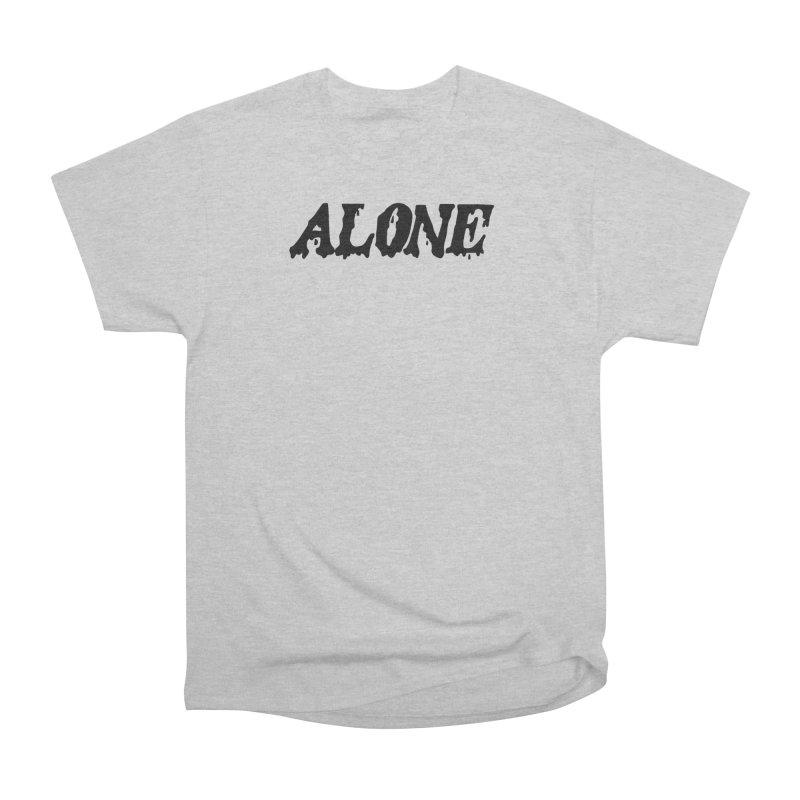 Alone Men's Heavyweight T-Shirt by Vice Versa Press