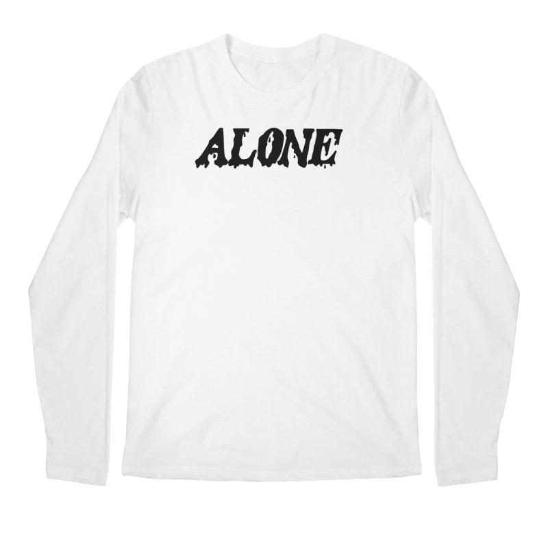 Alone Men's Regular Longsleeve T-Shirt by Vice Versa Press