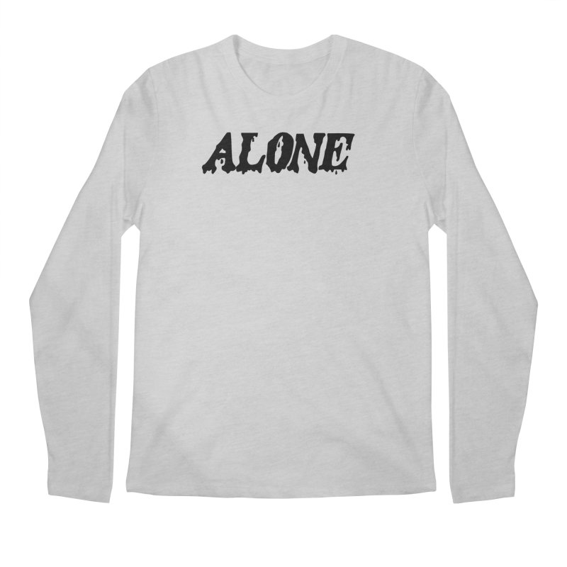 Alone Men's Longsleeve T-Shirt by Vice Versa Press