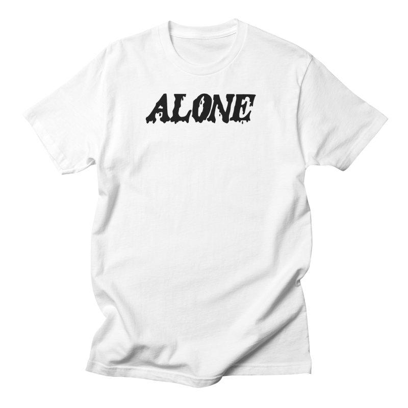 Alone Women's Regular Unisex T-Shirt by Vice Versa Press