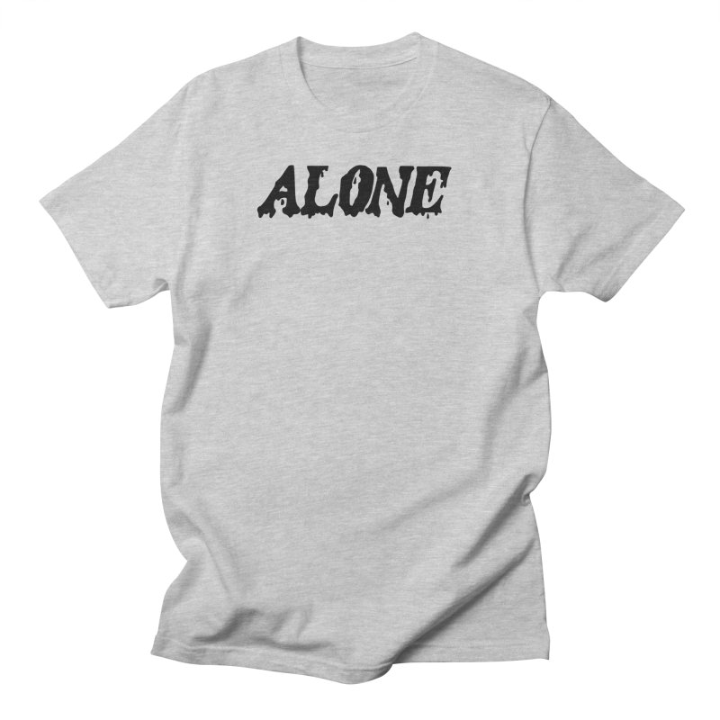 Alone Men's Regular T-Shirt by Vice Versa Press