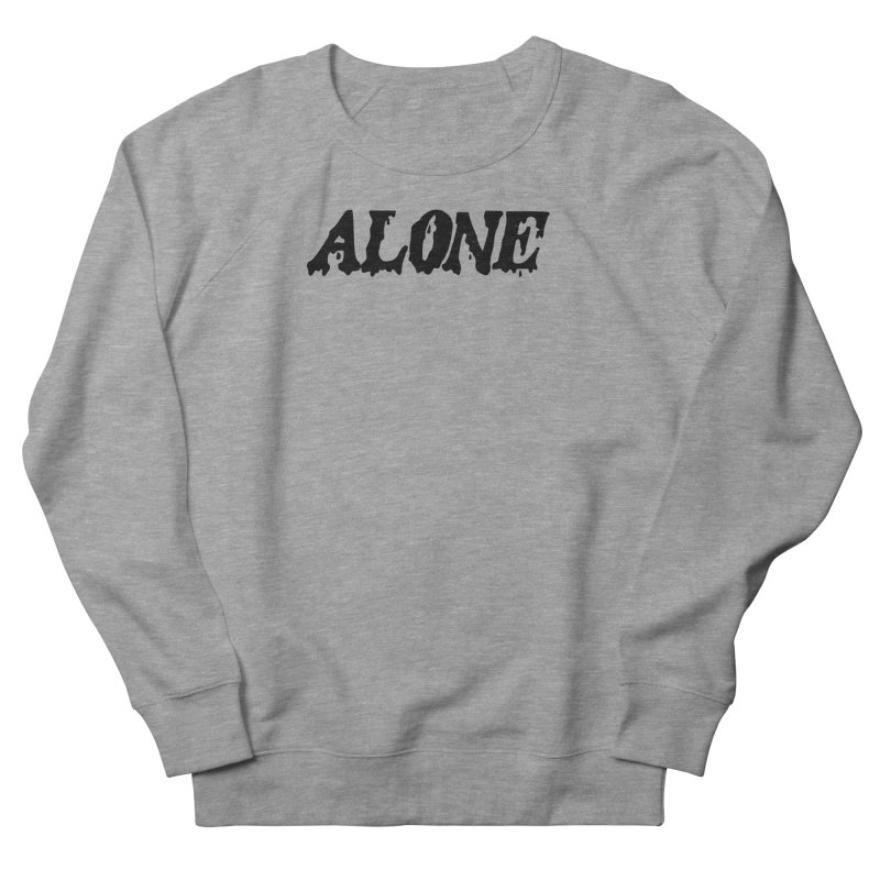 Alone Men's Sweatshirt by Vice Versa Press