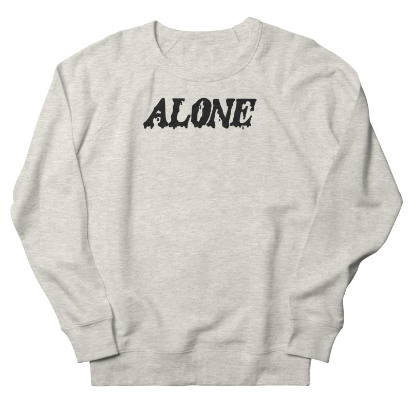 Alone Men's French Terry Sweatshirt by Vice Versa Press