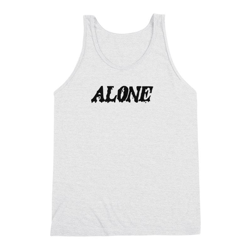 Alone Men's Triblend Tank by Vice Versa Press