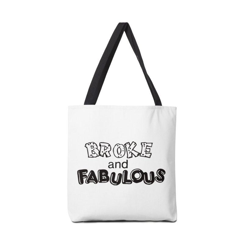 Broke & Fabulous Accessories Bag by Vice Versa Press