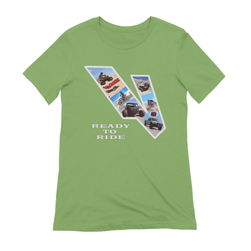 Vicious V OHV Women's Extra Soft T-Shirt by Vicious Factory