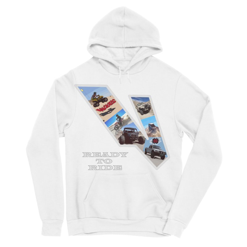 Vicious V OHV Men's Sponge Fleece Pullover Hoody by Vicious Factory