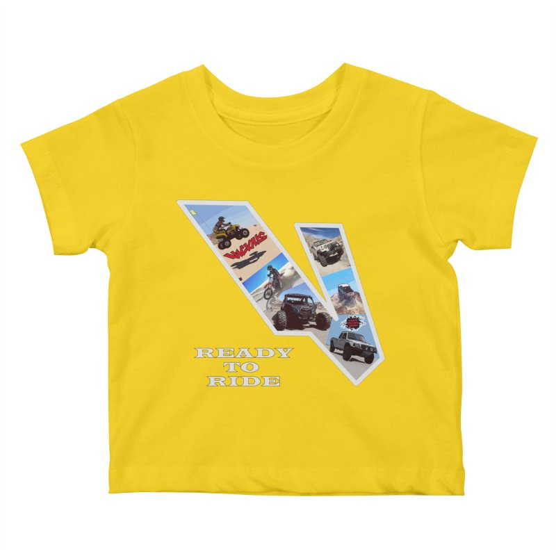 Vicious V OHV Kids Baby T-Shirt by Vicious Factory