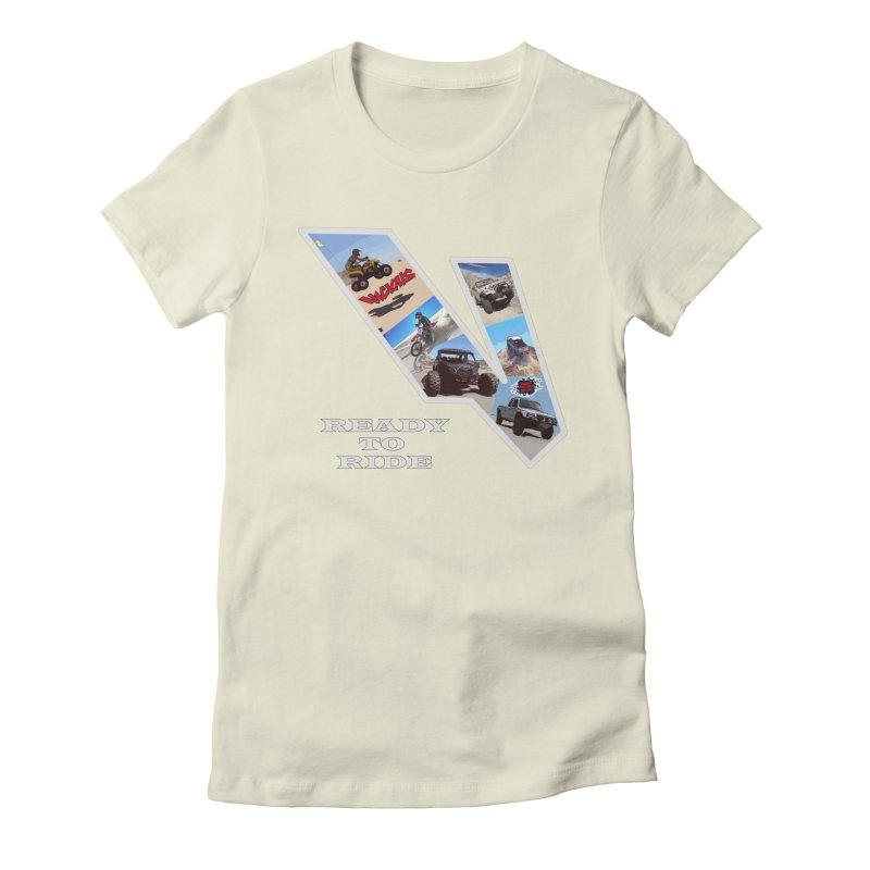 Vicious V OHV Women's Fitted T-Shirt by Vicious Factory