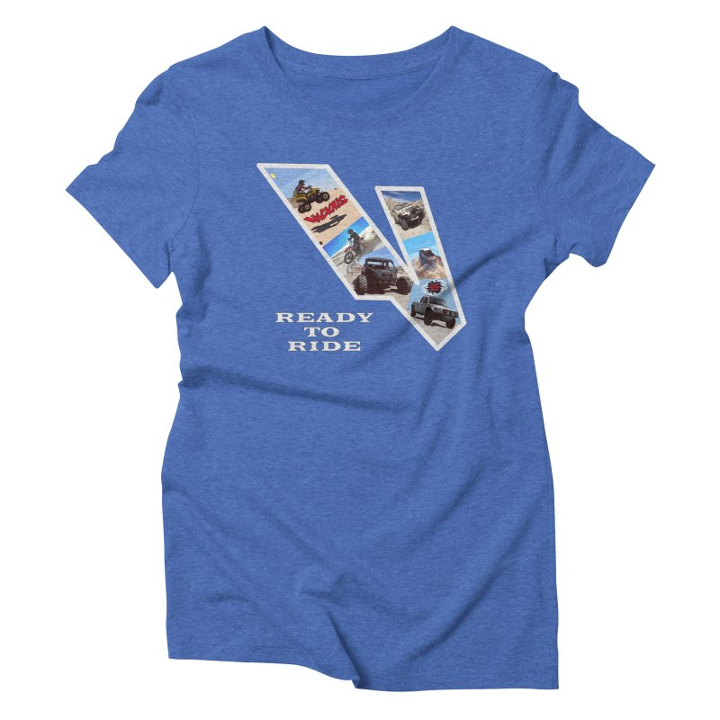 Vicious V OHV Women's Triblend T-Shirt by Vicious Factory