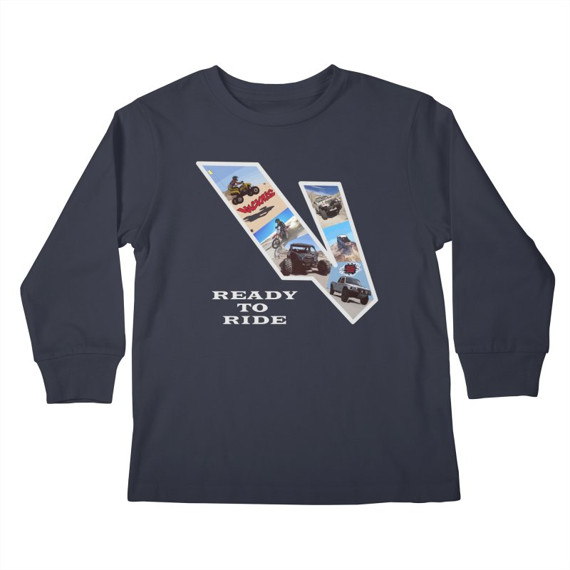 Vicious V OHV Kids Longsleeve T-Shirt by Vicious Factory
