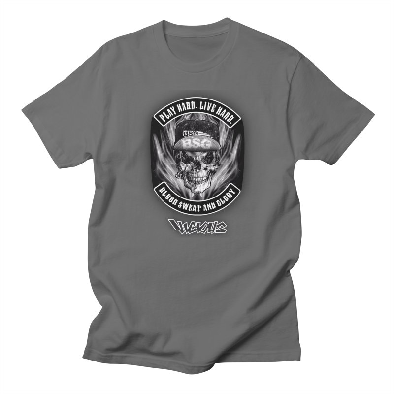 Vicious BSG Men's T-Shirt by Vicious Factory