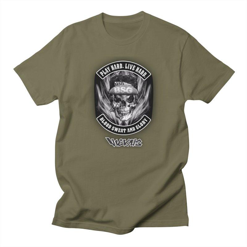 Vicious BSG Men's Regular T-Shirt by Vicious Factory