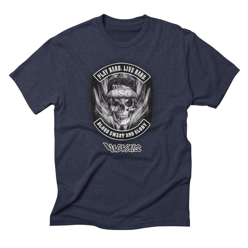 Vicious BSG Men's Triblend T-Shirt by Vicious Factory