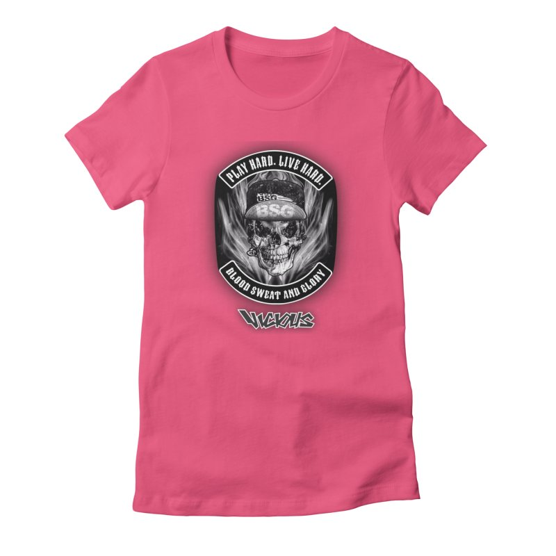 Vicious BSG Women's Fitted T-Shirt by Vicious Factory