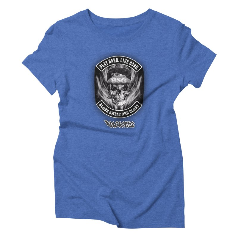 Vicious BSG Women's Triblend T-Shirt by Vicious Factory