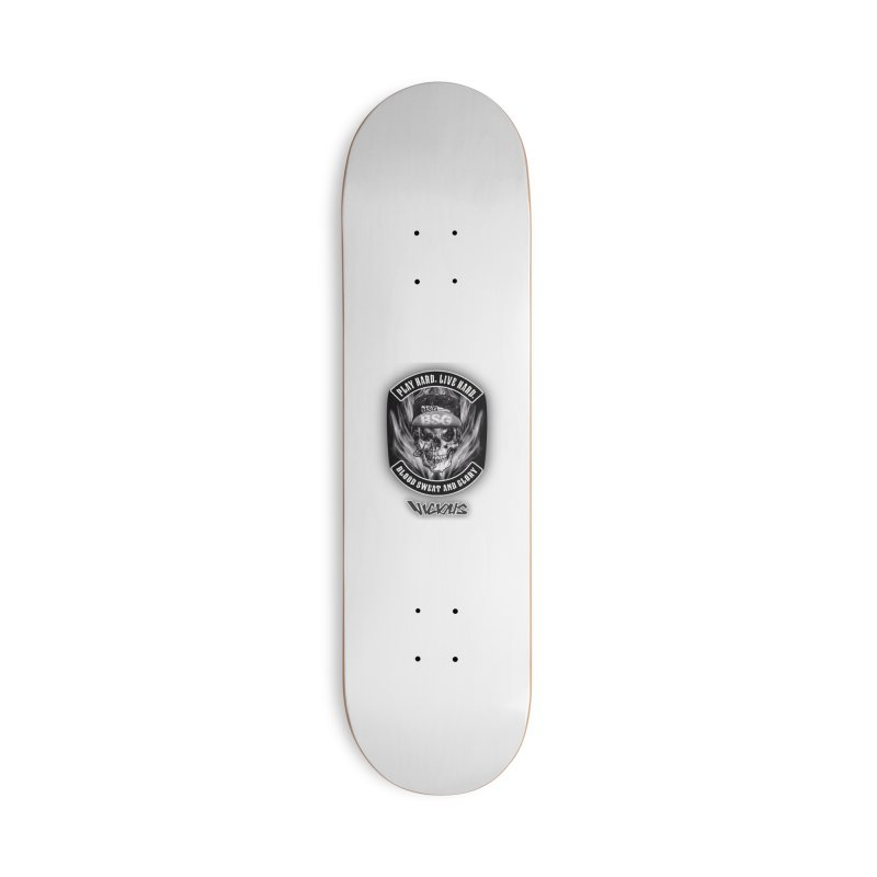 Vicious BSG Accessories Deck Only Skateboard by Vicious Factory