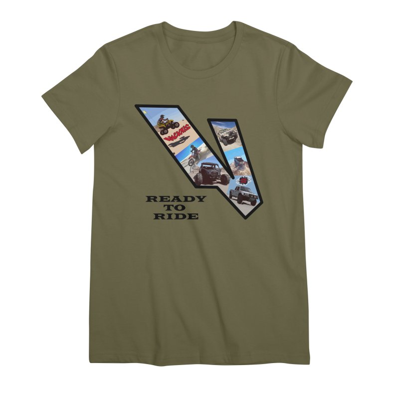Vicious V OHV Ready to Ride Women's Premium T-Shirt by Vicious Factory