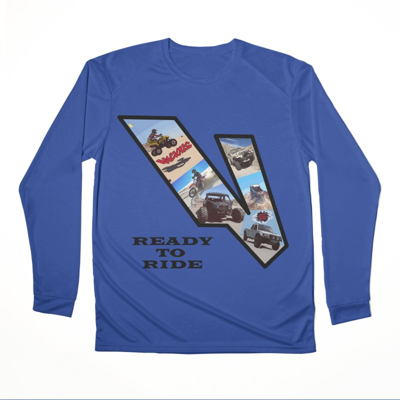 Vicious V OHV Ready to Ride Men's Performance Longsleeve T-Shirt by Vicious Factory