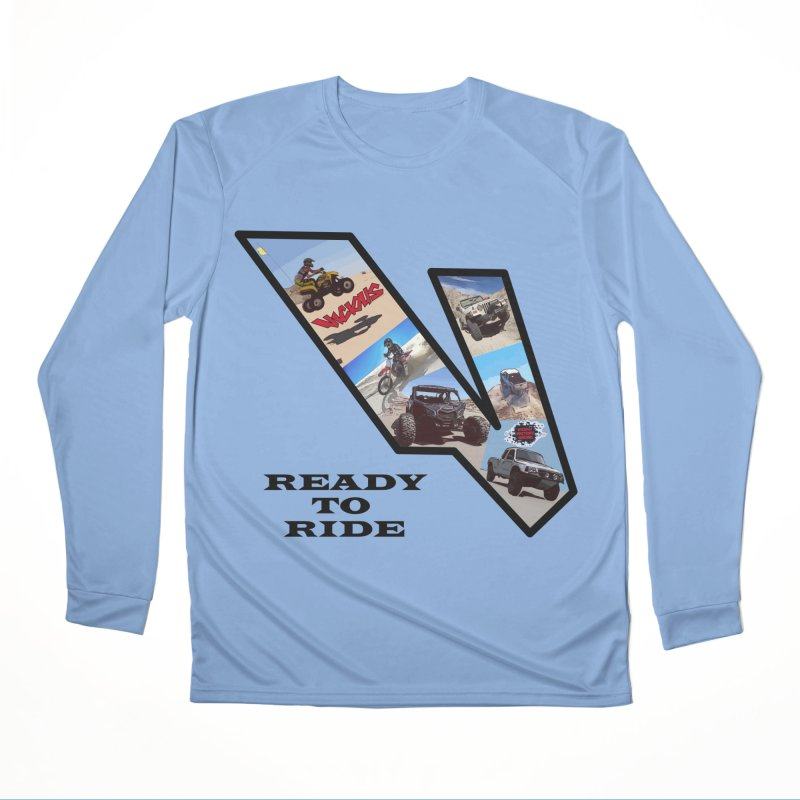 Vicious V OHV Ready to Ride Women's Performance Unisex Longsleeve T-Shirt by Vicious Factory