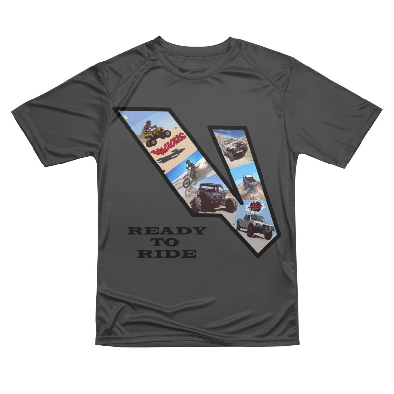 Vicious V OHV Ready to Ride Men's Performance T-Shirt by Vicious Factory