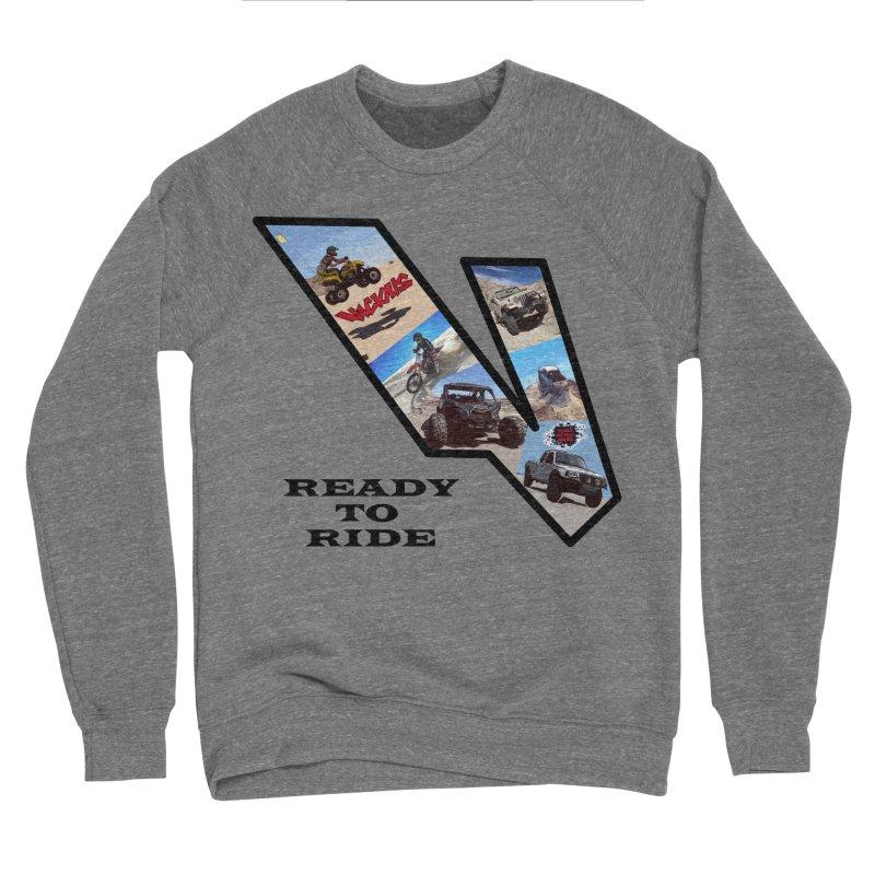 Vicious V OHV Ready to Ride Women's Sponge Fleece Sweatshirt by Vicious Factory