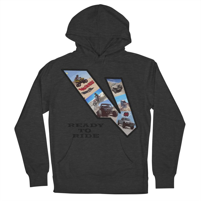 Vicious V OHV Ready to Ride Men's French Terry Pullover Hoody by Vicious Factory