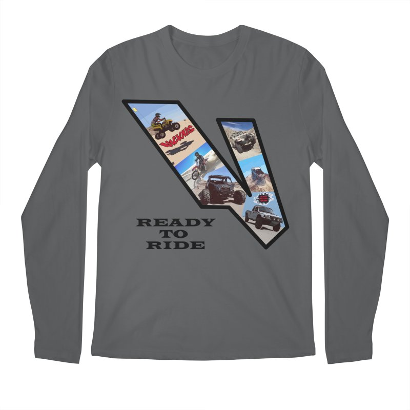Vicious V OHV Ready to Ride Men's Regular Longsleeve T-Shirt by Vicious Factory