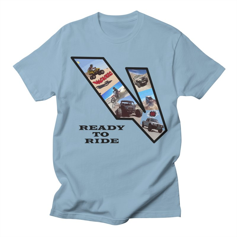 Vicious V OHV Ready to Ride Women's Regular Unisex T-Shirt by Vicious Factory