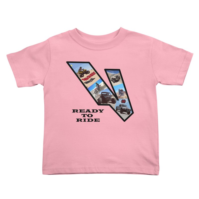 Vicious V OHV Ready to Ride Kids Toddler T-Shirt by Vicious Factory
