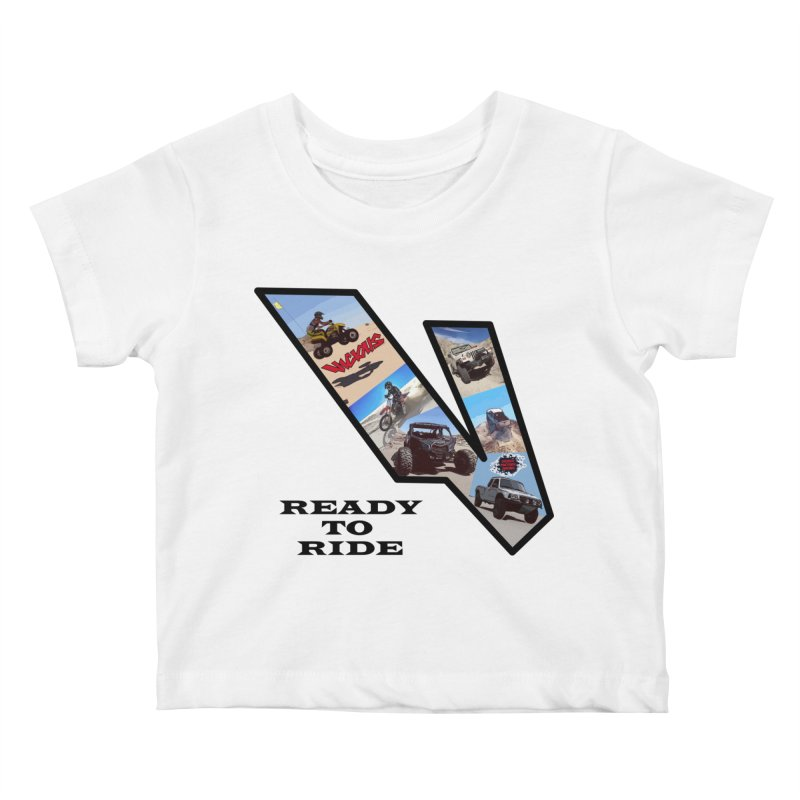 Vicious V OHV Ready to Ride Kids Baby T-Shirt by Vicious Factory