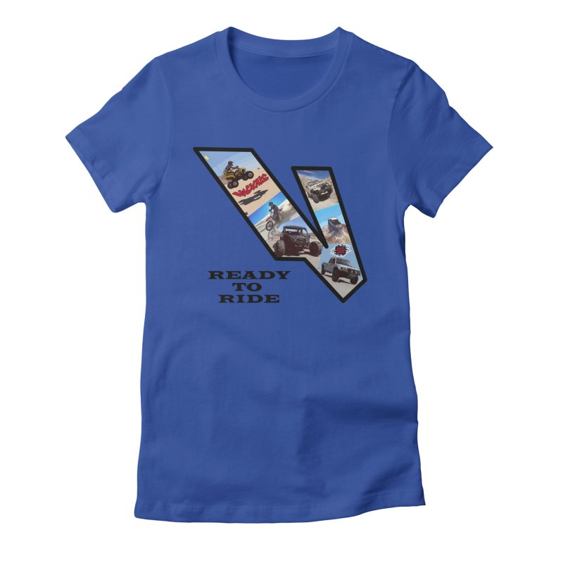 Vicious V OHV Ready to Ride Women's Fitted T-Shirt by Vicious Factory