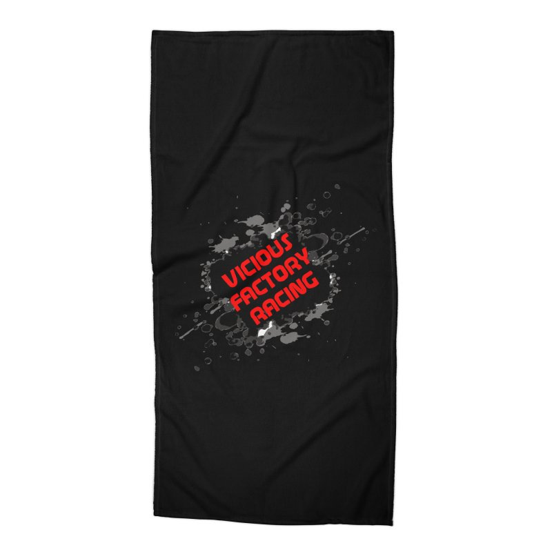 VICIOUS FACTORY RACING Accessories Beach Towel by Vicious Factory