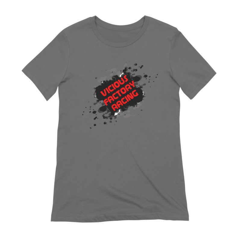 VICIOUS FACTORY RACING Women's Misfits Funwear T-Shirt by Vicious Factory