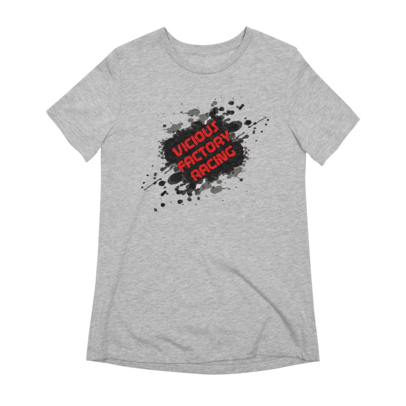 VICIOUS FACTORY RACING Women's Extra Soft T-Shirt by Vicious Factory