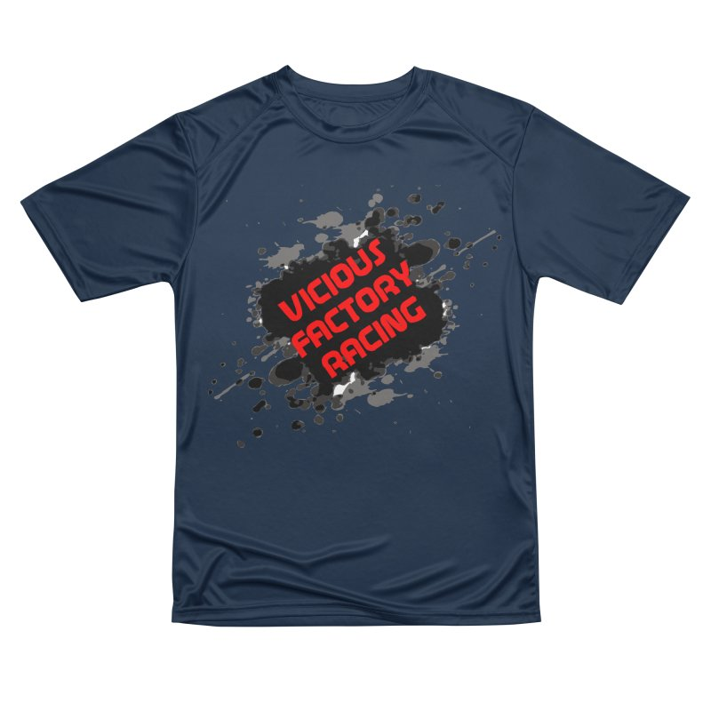 VICIOUS FACTORY RACING Women's Performance Unisex T-Shirt by Vicious Factory