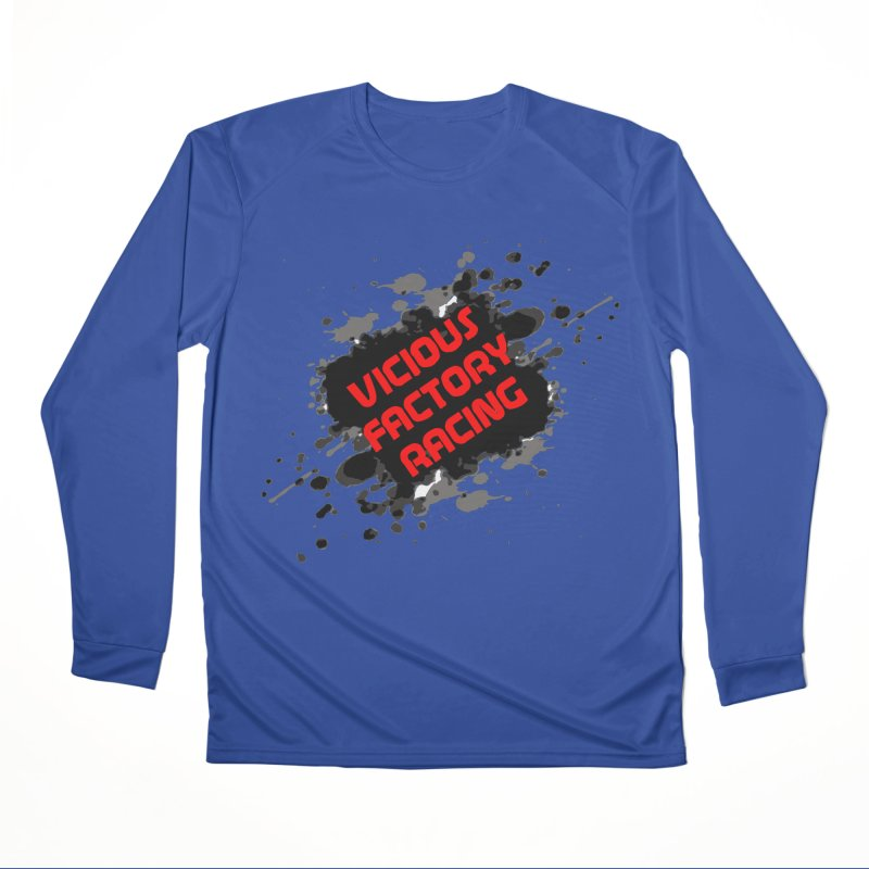 VICIOUS FACTORY RACING Men's Performance Longsleeve T-Shirt by Vicious Factory