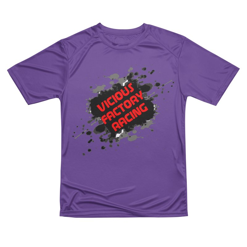 VICIOUS FACTORY RACING Men's Performance T-Shirt by Vicious Factory