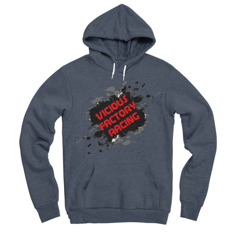VICIOUS FACTORY RACING Men's Sponge Fleece Pullover Hoody by Vicious Factory