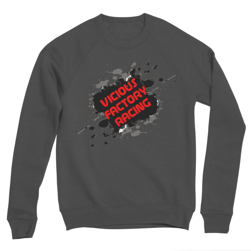 VICIOUS FACTORY RACING Women's Sponge Fleece Sweatshirt by Vicious Factory