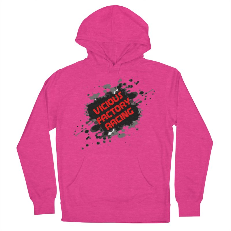 VICIOUS FACTORY RACING Women's French Terry Pullover Hoody by Vicious Factory