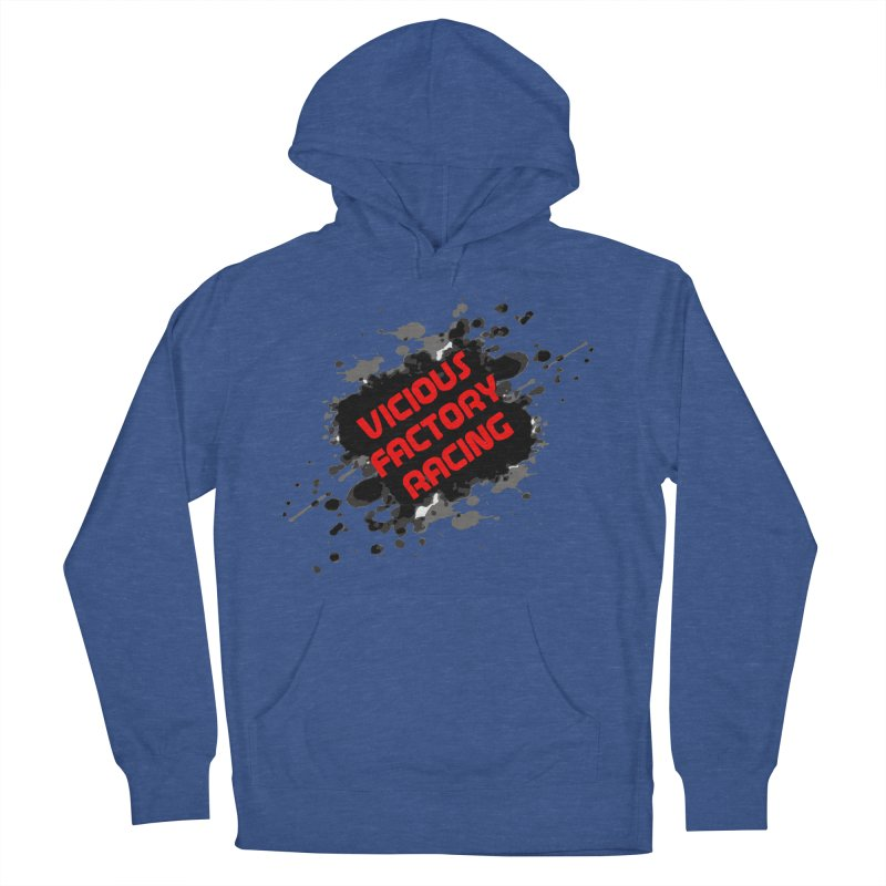 VICIOUS FACTORY RACING Men's French Terry Pullover Hoody by Vicious Factory