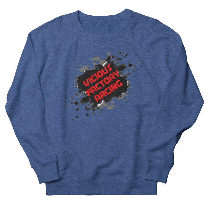 VICIOUS FACTORY RACING Men's French Terry Sweatshirt by Vicious Factory