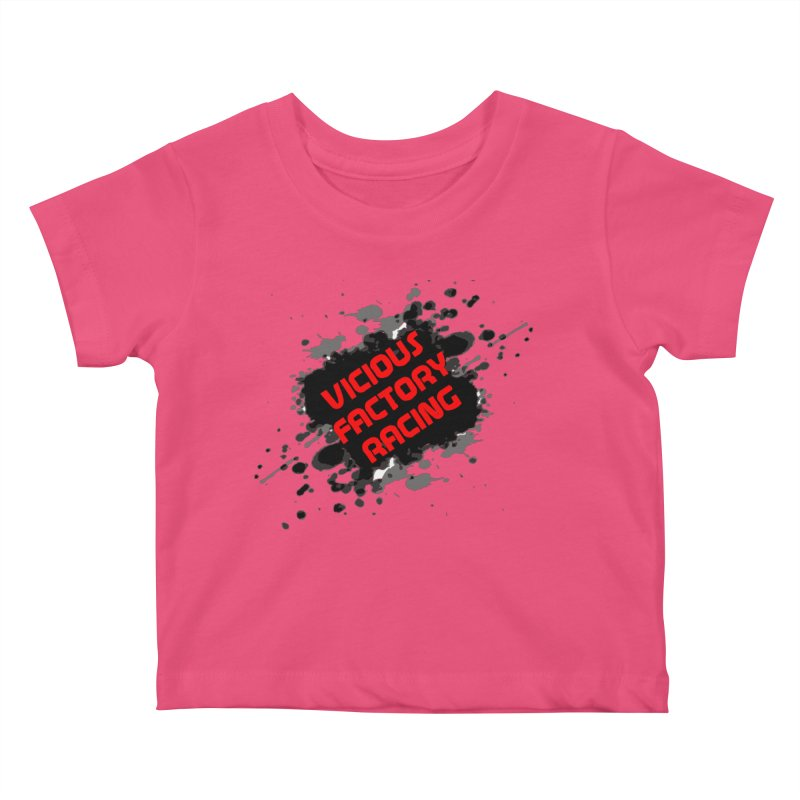 VICIOUS FACTORY RACING Kids Baby T-Shirt by Vicious Factory
