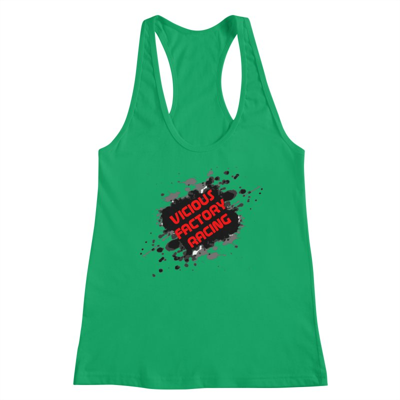 VICIOUS FACTORY RACING Women's Racerback Tank by Vicious Factory