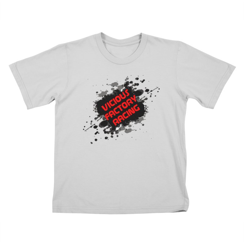 VICIOUS FACTORY RACING Kids T-Shirt by Vicious Factory
