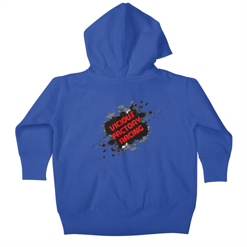 VICIOUS FACTORY RACING Kids Baby Zip-Up Hoody by Vicious Factory